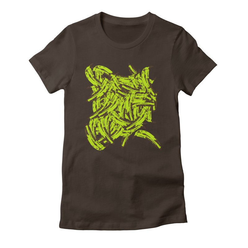 Pile-O-Plantains Women's Fitted T-Shirt by Izzy Berdan's Artist Shop