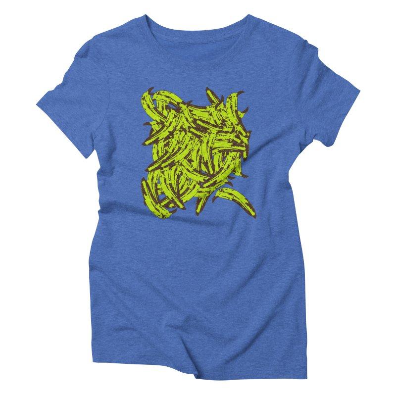 Pile-O-Plantains Women's Triblend T-Shirt by Izzy Berdan's Artist Shop