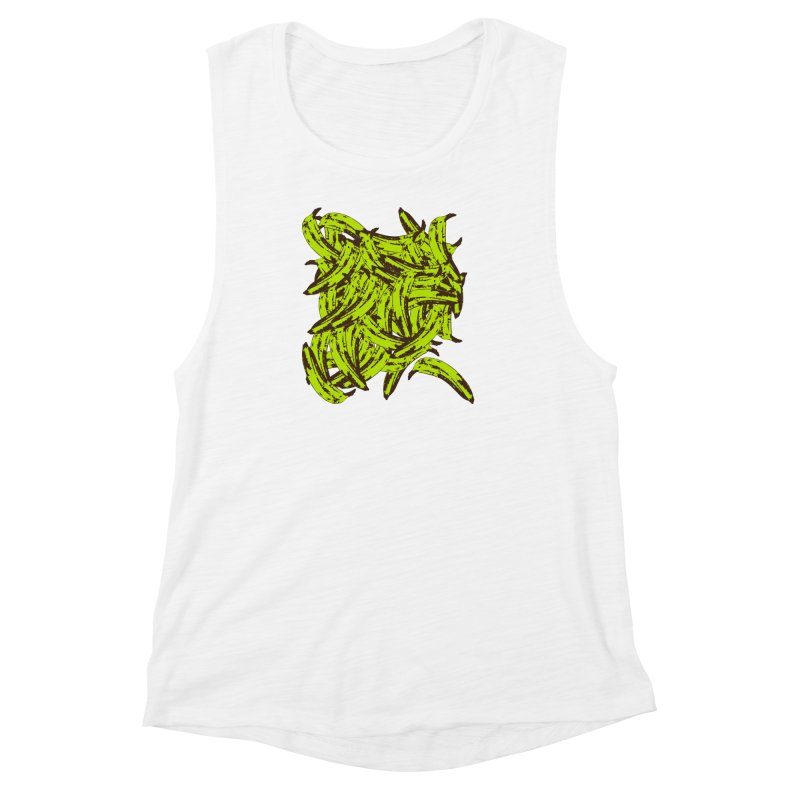 Pile-O-Plantains Women's Muscle Tank by izzyberdan's Artist Shop