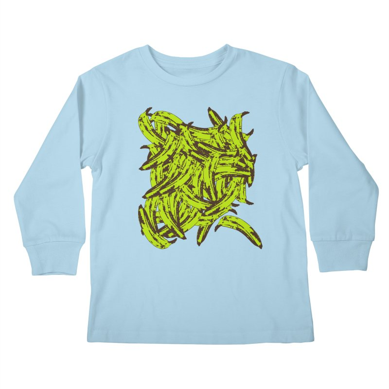 Pile-O-Plantains Kids Longsleeve T-Shirt by izzyberdan's Artist Shop