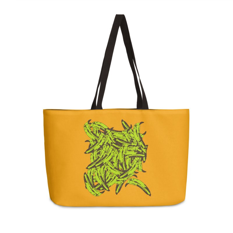 Pile-O-Plantains Accessories Weekender Bag Bag by Izzy Berdan's Artist Shop