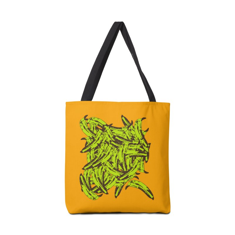 Pile-O-Plantains Accessories Tote Bag Bag by Izzy Berdan's Artist Shop