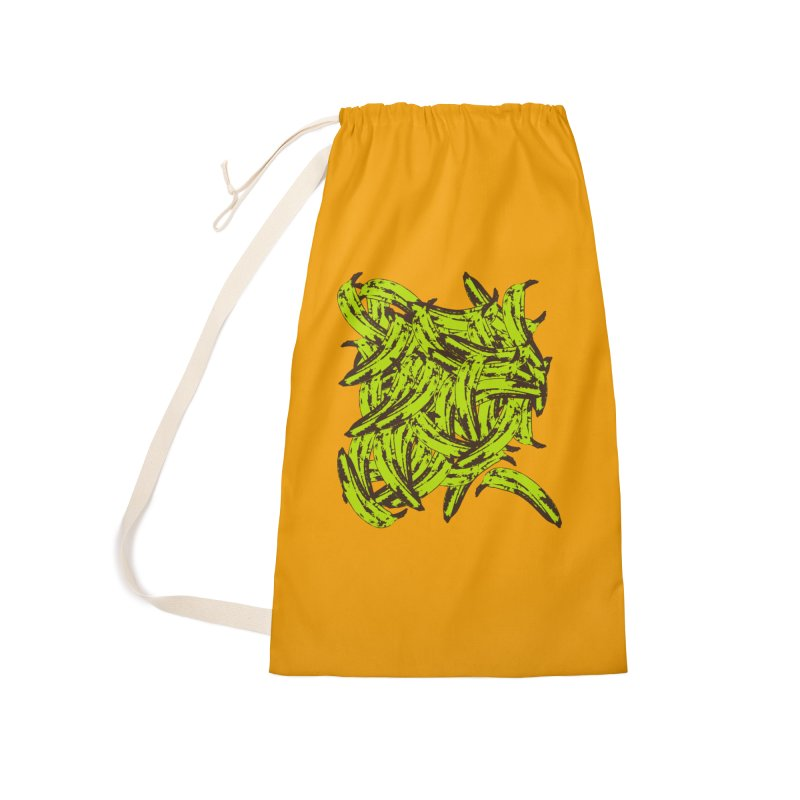 Pile-O-Plantains Accessories Bag by Izzy Berdan's Artist Shop