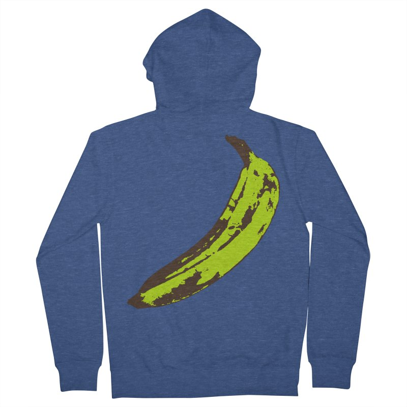 Put a plantain on it Women's French Terry Zip-Up Hoody by izzyberdan's Artist Shop