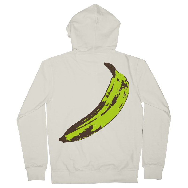 Put a plantain on it Men's French Terry Zip-Up Hoody by Izzy Berdan's Artist Shop