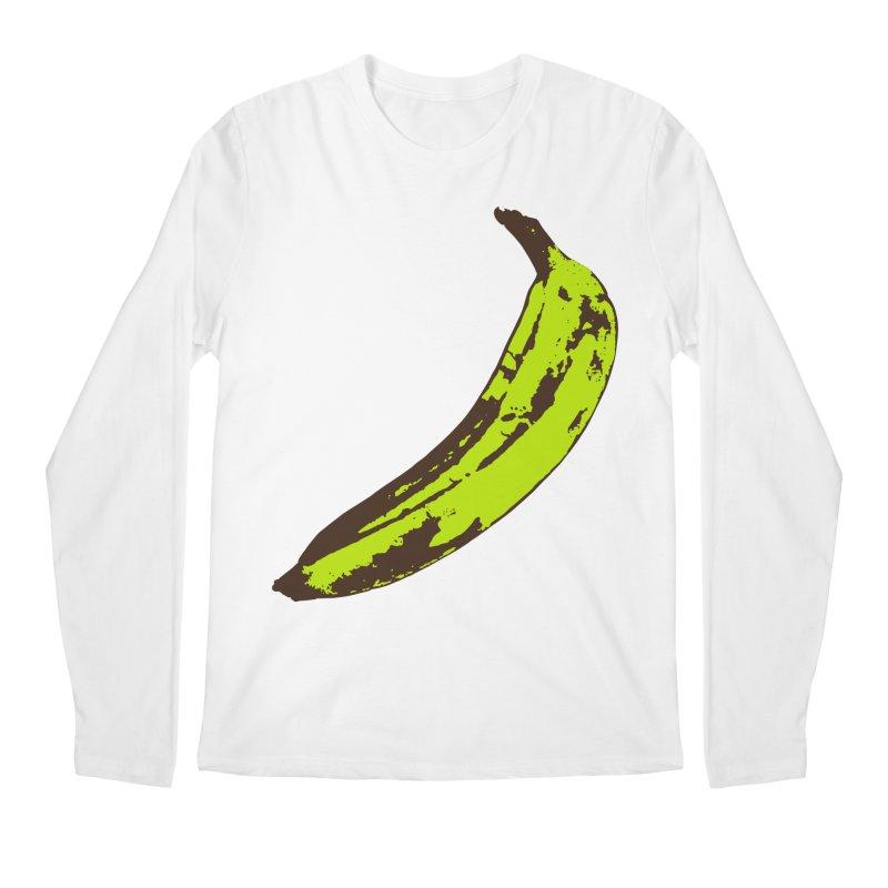 Put a plantain on it Men's Regular Longsleeve T-Shirt by Izzy Berdan's Artist Shop