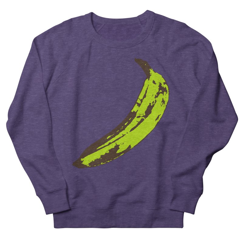 Put a plantain on it Women's French Terry Sweatshirt by Izzy Berdan's Artist Shop