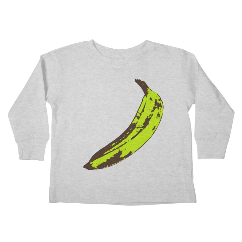 Put a plantain on it Kids Toddler Longsleeve T-Shirt by Izzy Berdan's Artist Shop