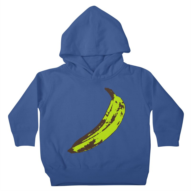 Put a plantain on it Kids Toddler Pullover Hoody by Izzy Berdan's Artist Shop
