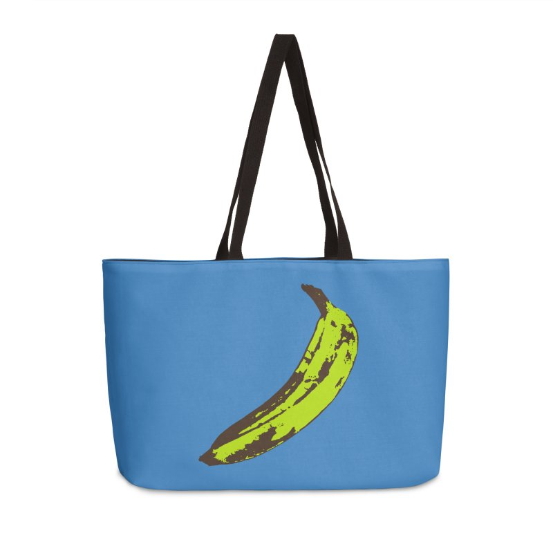 Put a plantain on it Accessories Weekender Bag Bag by Izzy Berdan's Artist Shop
