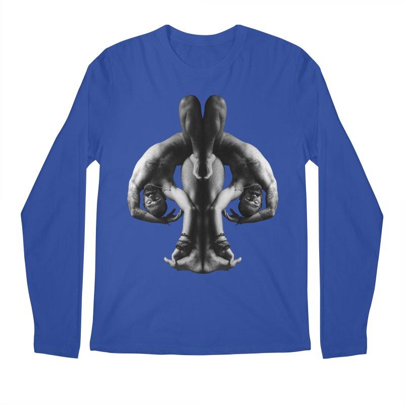 Rorschach Stretch Men's Regular Longsleeve T-Shirt by Izzy Berdan's Artist Shop
