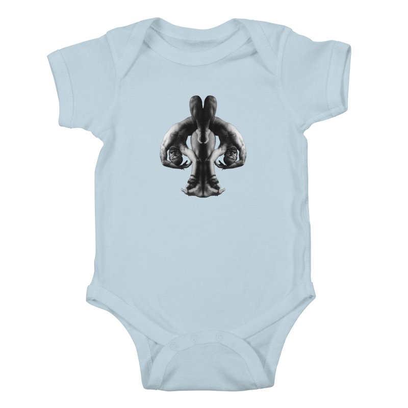 Rorschach Stretch Kids Baby Bodysuit by Izzy Berdan's Artist Shop