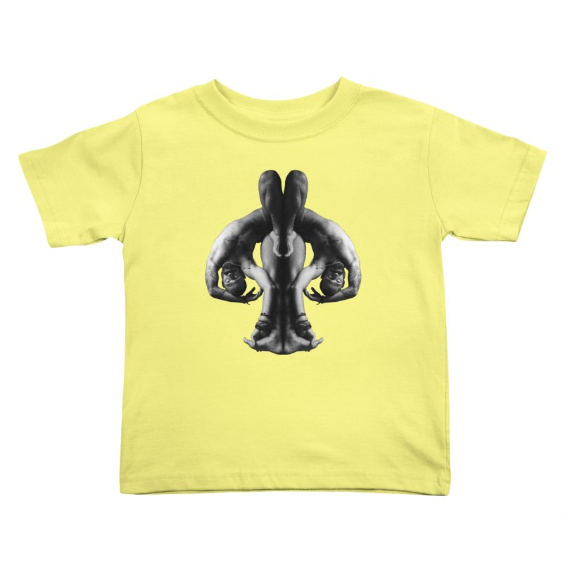 Rorschach Stretch Kids Toddler T-Shirt by Izzy Berdan's Artist Shop