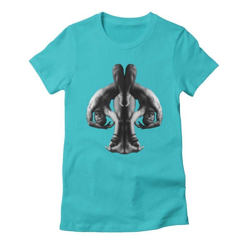 Rorschach Stretch Women's T-Shirt by Izzy Berdan's Artist Shop