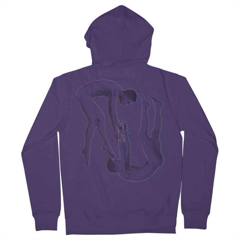 drifting apart Women's French Terry Zip-Up Hoody by Izzy Berdan's Artist Shop