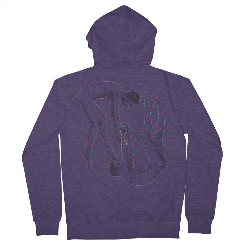 drifting apart Men's French Terry Zip-Up Hoody by izzyberdan's Artist Shop