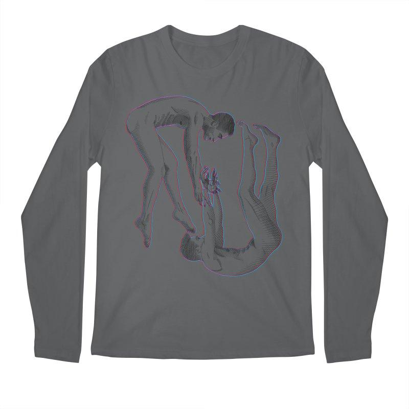 drifting apart Men's Regular Longsleeve T-Shirt by Izzy Berdan's Artist Shop