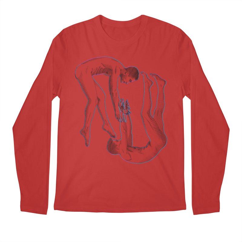 drifting apart Men's Regular Longsleeve T-Shirt by izzyberdan's Artist Shop