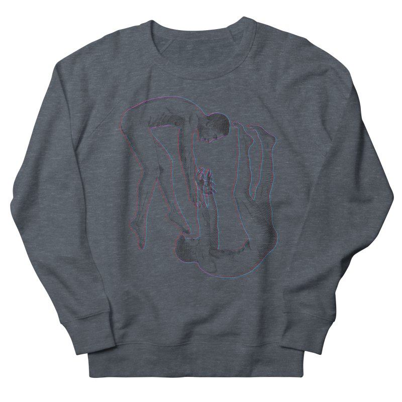 drifting apart Men's French Terry Sweatshirt by Izzy Berdan's Artist Shop