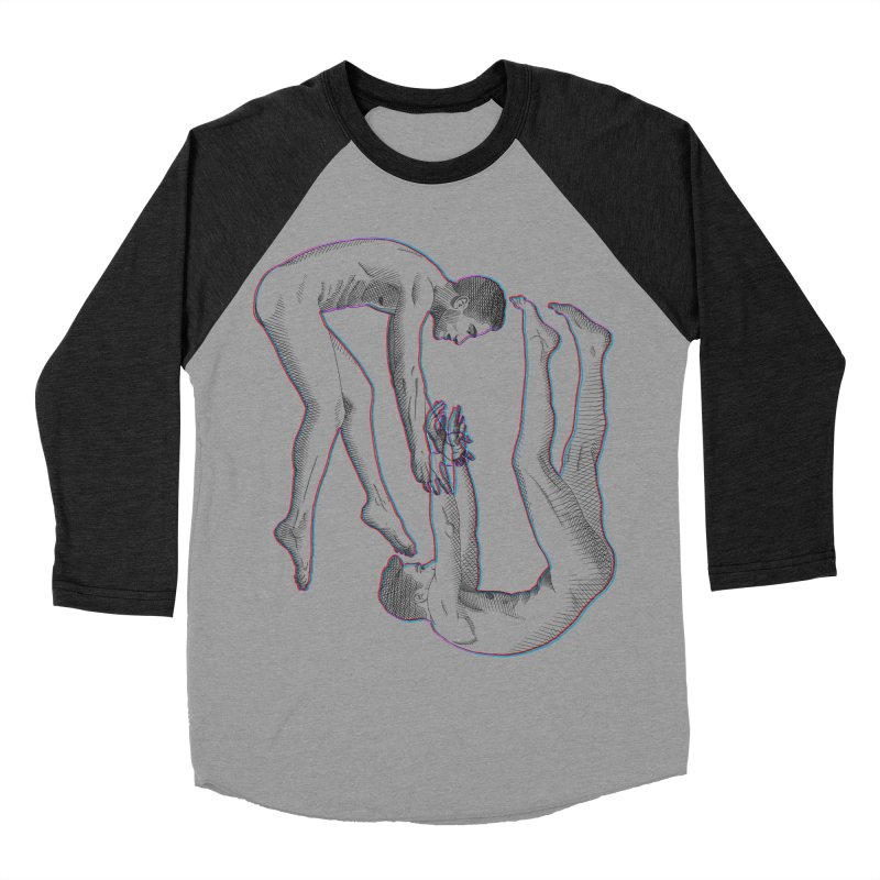 drifting apart Men's Baseball Triblend Longsleeve T-Shirt by Izzy Berdan's Artist Shop
