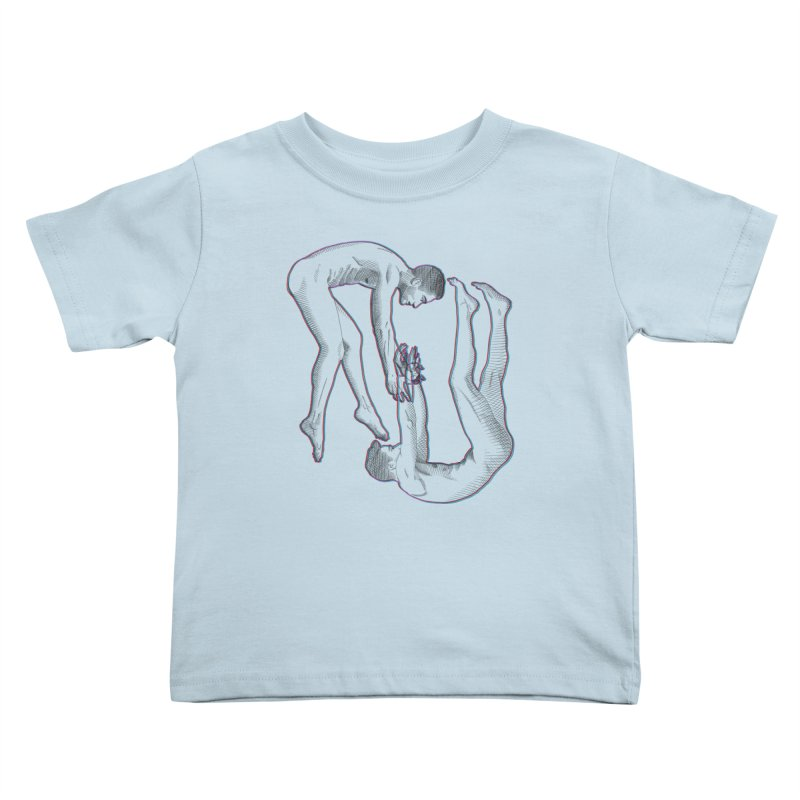 drifting apart Kids Toddler T-Shirt by Izzy Berdan's Artist Shop