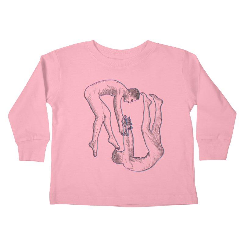 drifting apart Kids Toddler Longsleeve T-Shirt by izzyberdan's Artist Shop