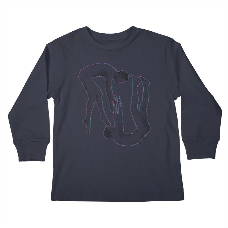 drifting apart Kids Longsleeve T-Shirt by Izzy Berdan's Artist Shop