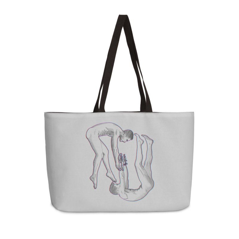 drifting apart Accessories Weekender Bag Bag by Izzy Berdan's Artist Shop