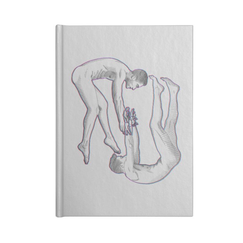 drifting apart Accessories Notebook by Izzy Berdan's Artist Shop
