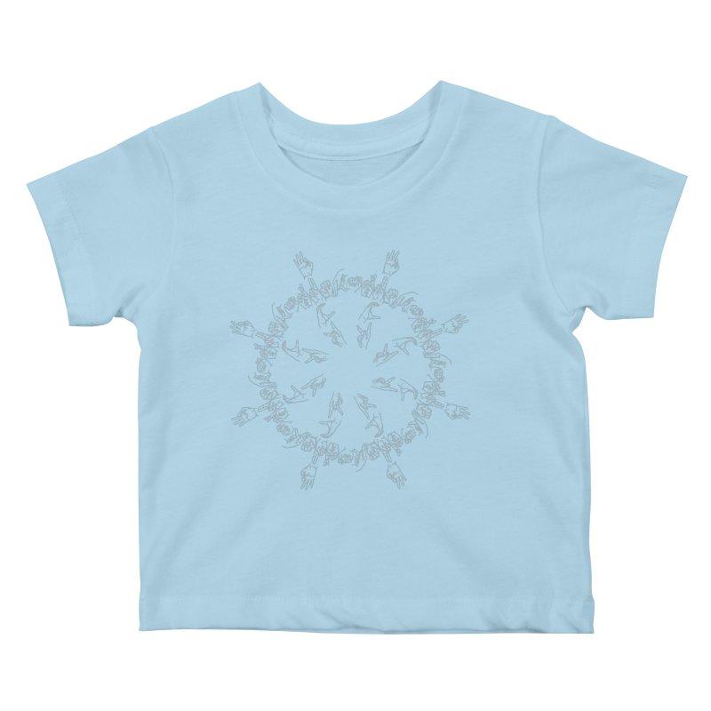 F*ck Trump mandala w Kids Baby T-Shirt by izzyberdan's Artist Shop
