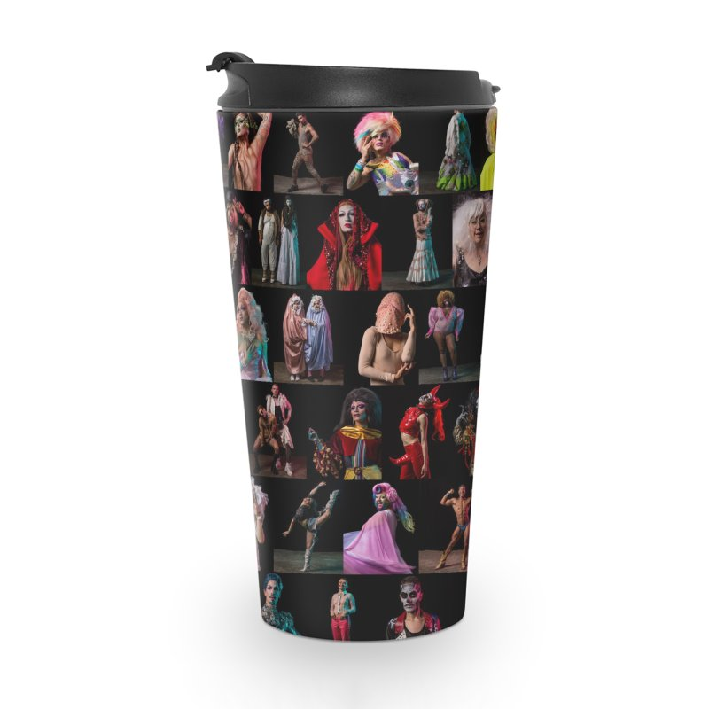 Bushwig 2018 Accessories Travel Mug by Izzy Berdan's Artist Shop