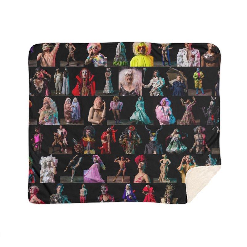 Bushwig 2018 Home Sherpa Blanket Blanket by Izzy Berdan's Artist Shop