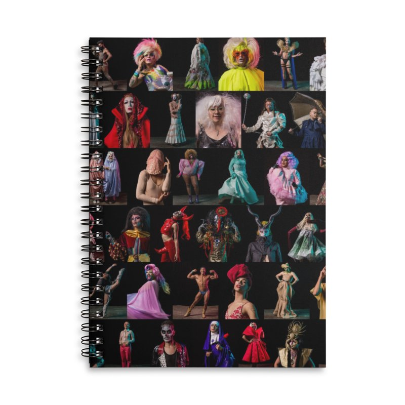 Bushwig 2018 Accessories Lined Spiral Notebook by Izzy Berdan's Artist Shop