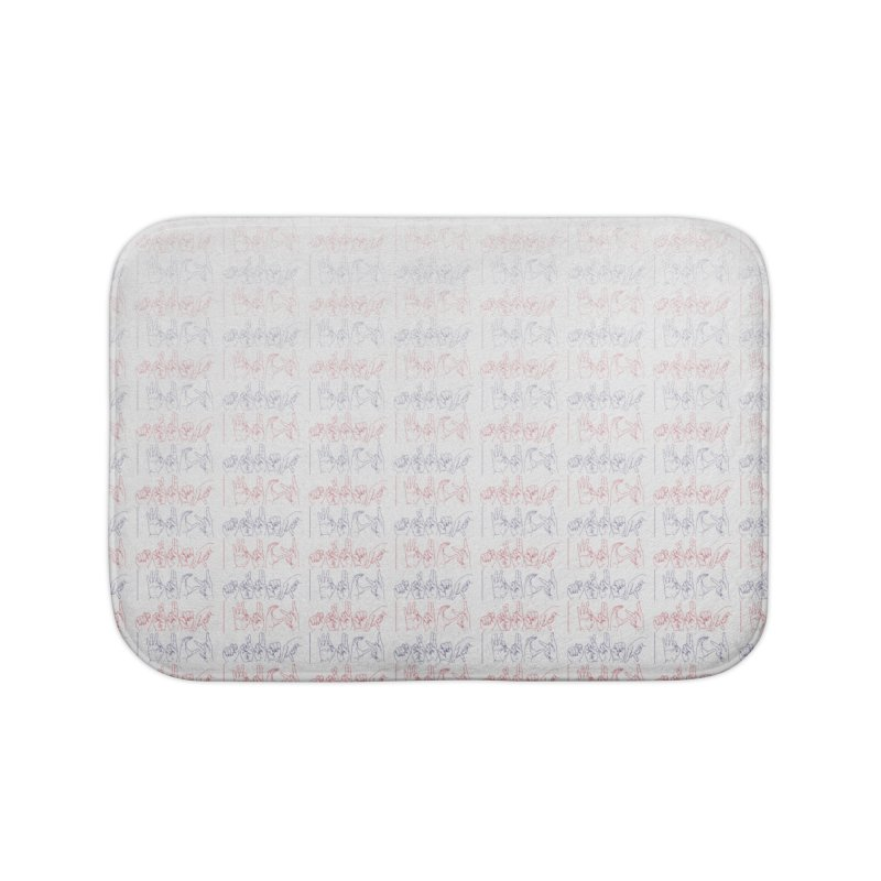 faded colors Home Bath Mat by izzyberdan's Artist Shop