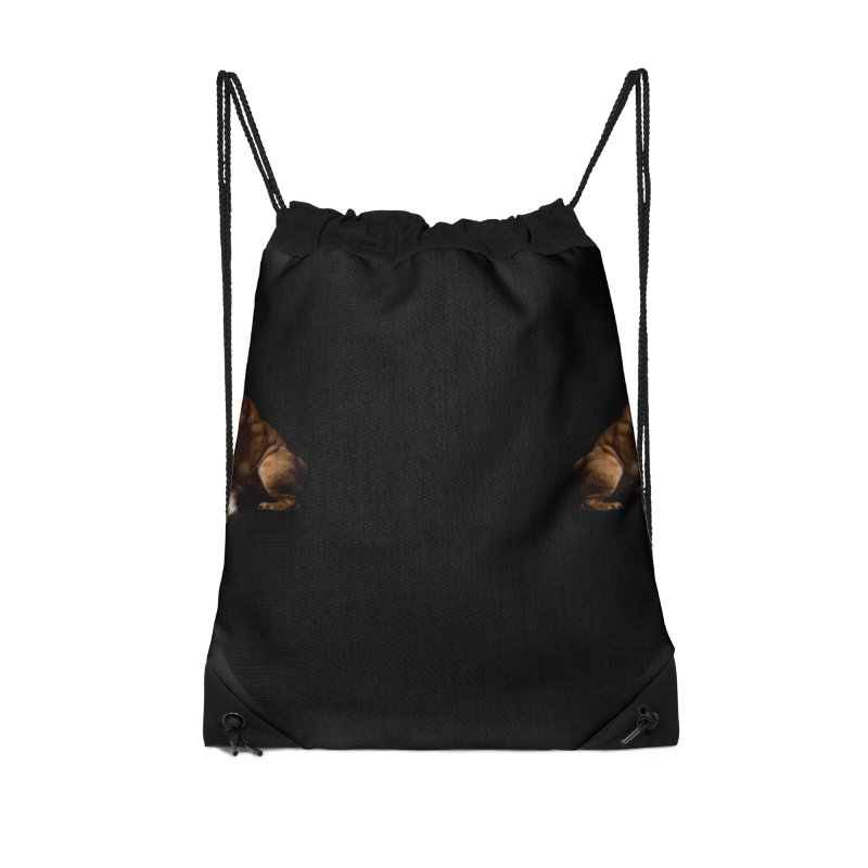 marge Accessories Drawstring Bag Bag by Izzy Berdan's Artist Shop