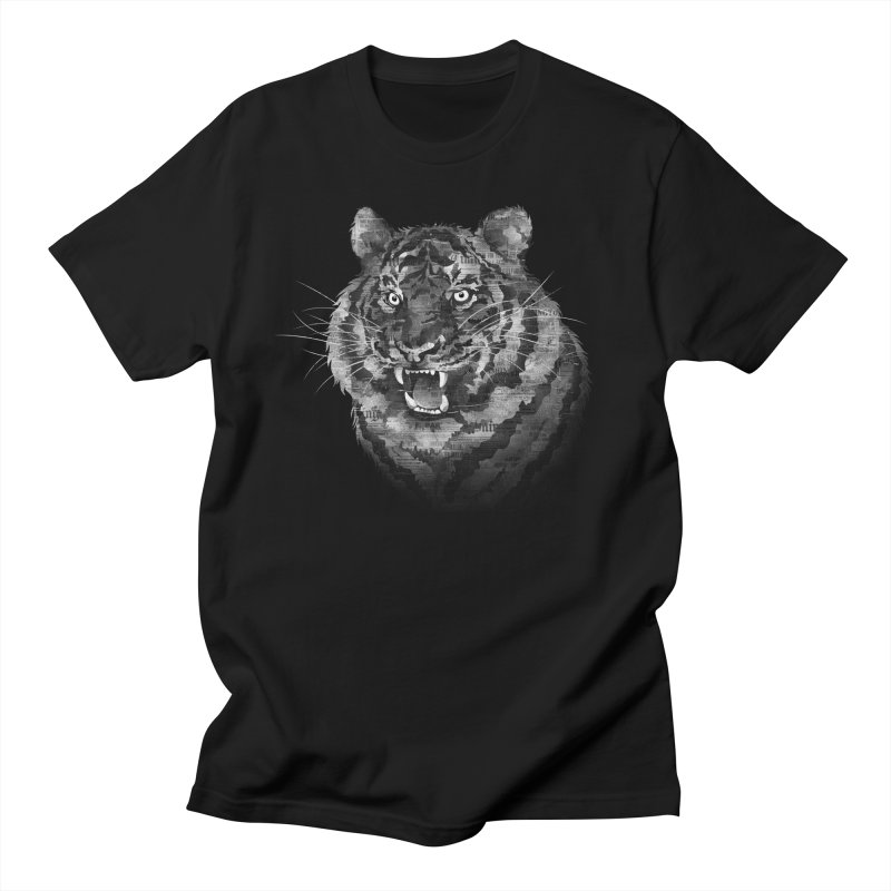 The Paper Tiger Men's T-Shirt by Jeremy Martinez