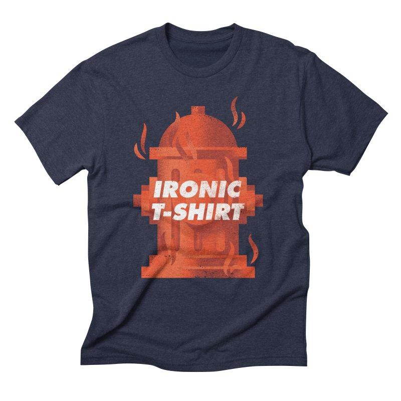 Ironic T-Shirt Men's Triblend T-shirt by Jeremy Martinez