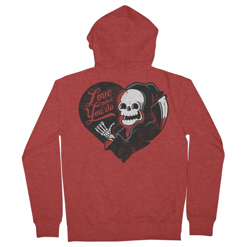 Dream Job Women's Zip-Up Hoody by Jeremy Martinez
