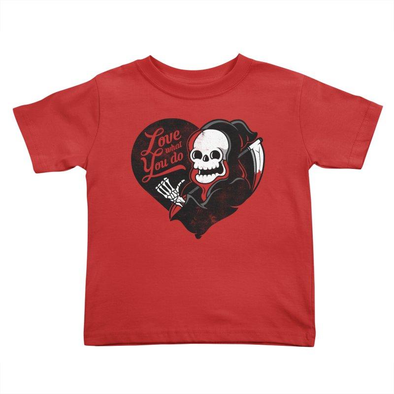 Dream Job Kids Toddler T-Shirt by Jeremy Martinez