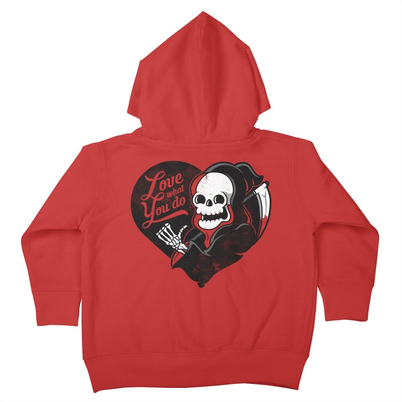 Dream Job Kids Toddler Zip-Up Hoody by Jeremy Martinez