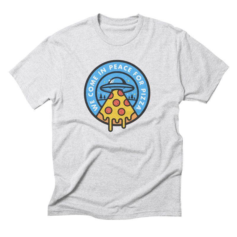 Invasion of the Belly Stuffers Men's Triblend T-shirt by Jeremy Martinez