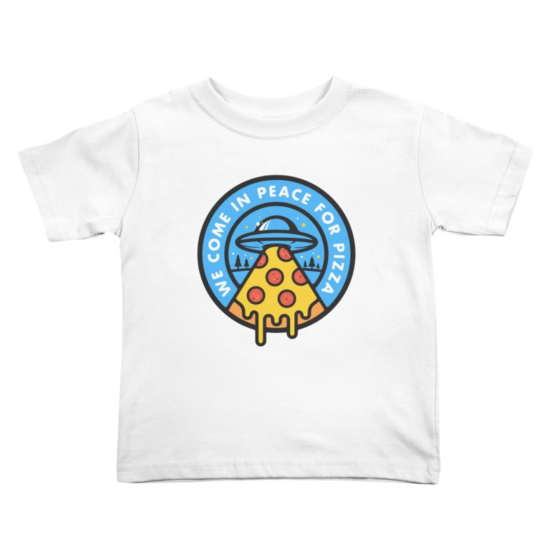Invasion of the Belly Stuffers Kids Toddler T-Shirt by Jeremy Martinez