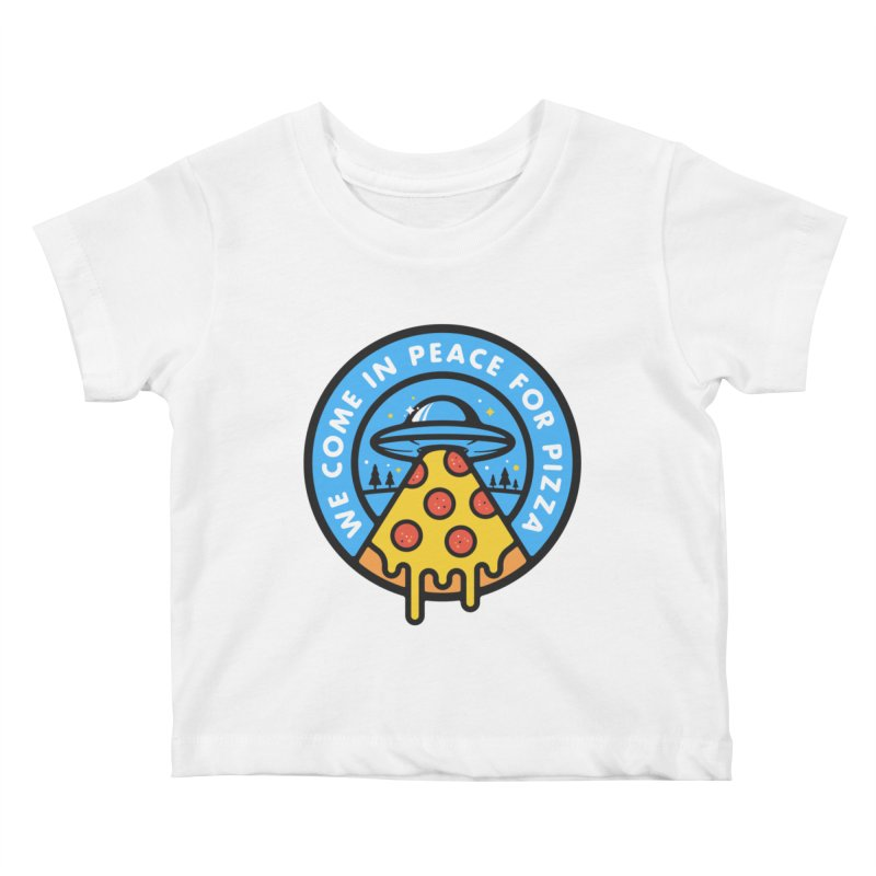 Invasion of the Belly Stuffers Kids Baby T-Shirt by Jeremy Martinez