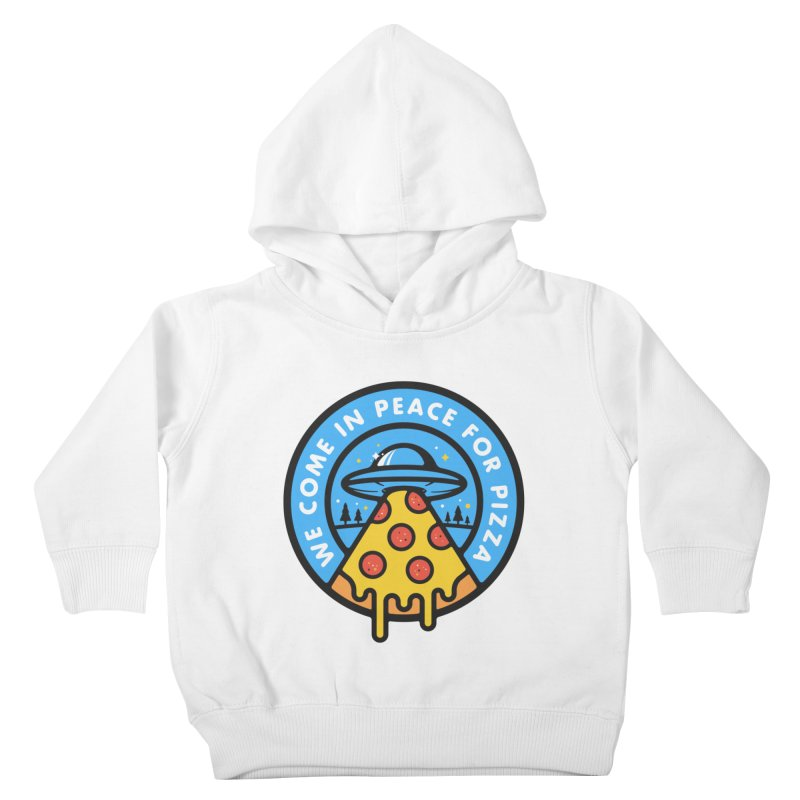 Invasion of the Belly Stuffers Kids Toddler Pullover Hoody by Jeremy Martinez