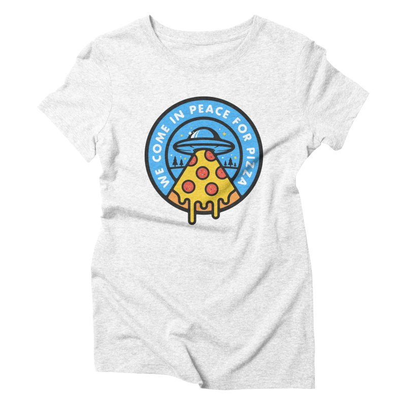 Invasion of the Belly Stuffers Women's Triblend T-shirt by Jeremy Martinez