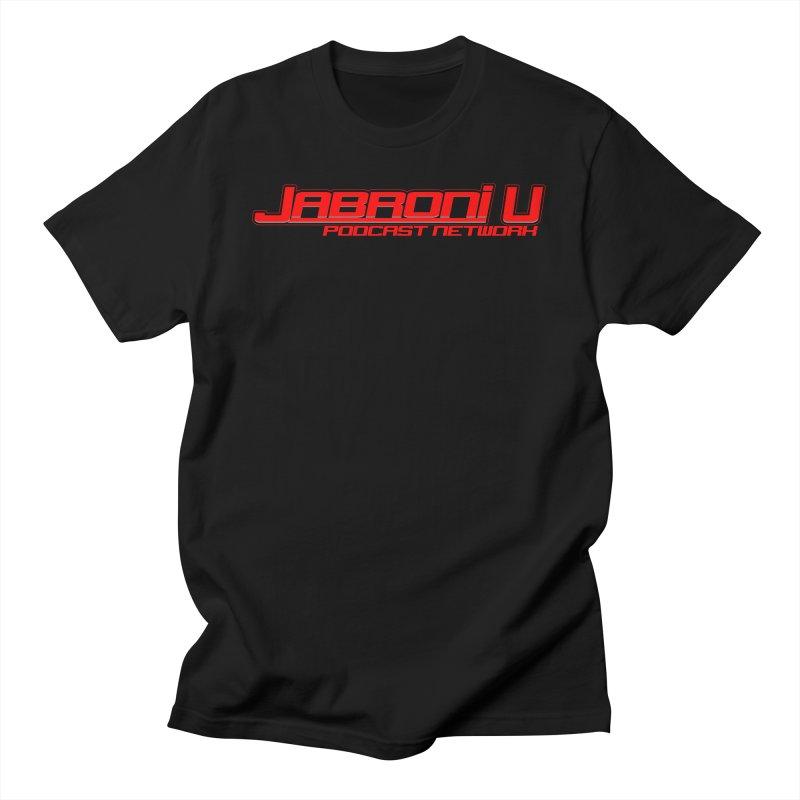 Jabroni U Podcast Network Logo Men's T-Shirt by Jabroni U Network Store