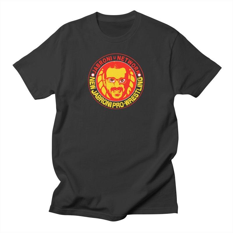 New Jabroni Pro-Wrestling Men's T-Shirt by Jabroni U Network Store