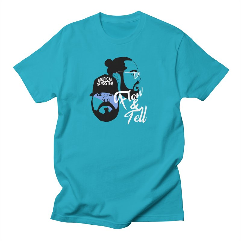 Flow and Tell Men's T-Shirt by Jabroni U Network Store