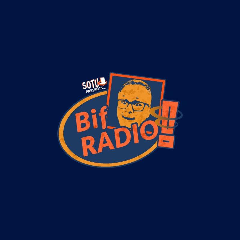 Biff Radio Men's T-Shirt by Jabroni U Network Store