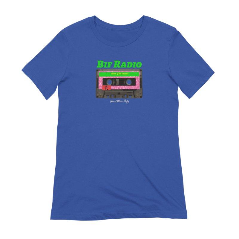 Bif Radio Mixtape Logo Women's T-Shirt by Jabroni U Network Store